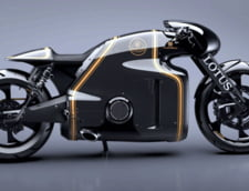 O super motocicleta unica in lume: Lotus C-01 (Video)