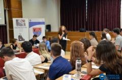 O tanara din Craiova, aleasa vicepresedinte al Consiliului National al Elevilor