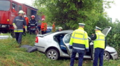 O tanara insarcinata a fost ranita grav intr-un accident petrecut pe DN 68 A Deva - Lugoj