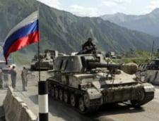 O televiziune georgiana a anuntat ca rusii au invadat tara