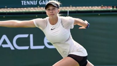 O tenismena in varsta de doar 16 ani face spectacol la Indian Wells