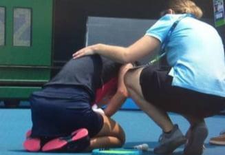 O tenismena s-a retras de la Australian Open: Nu mai puteam sa respir