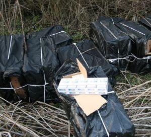 O treime din tigarile din Romania sunt de contrabanda