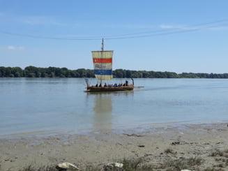 O veche nava romana in Tulcea de azi