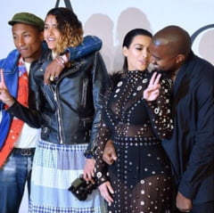 O vedeta a salvat-o pe Kim Kardashian cand i-a luat rochia foc