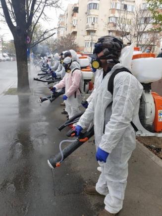 OMS avertizeaza ca pulverizarea de solutii dezinfectante pe strazi impotriva noului virus este periculoasa si ineficienta