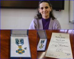ONORANT: Prof.univ.dr.ing. Simona Miclaus, cadru didactic al AFT, decorata de presedintele Romaniei