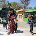 ONU: 100.000 de oameni si-au parasit casele si au fugit din calea ofensivei Turciei in Siria