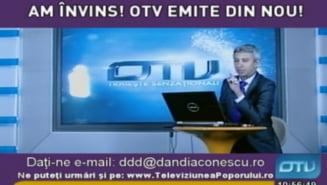 OTV a inceput sa emita ilegal, din Bucuresti, pe frecventa DD TV