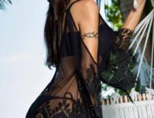 Oana Zavoranu costum negru