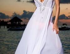 Oana Zavoranu rochie alba