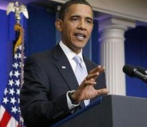Obama: Regimul lui Gaddafi e terminat, viitorul Libiei e in mainile poporului