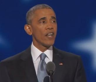 Obama, discurs de sustinere a lui Hillary Clinton: Trump ofera doar sloganuri si frica! (Video)