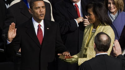 Obama, doua ceremonii de investitura in functia de presedinte al SUA