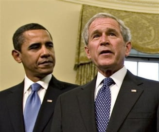 Obama, mai prost cotat decat Bush dupa aceeasi perioada de mandat