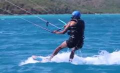 Obama a facut kiteboarding cu miliardarul Richard Branson (Foto & Video)