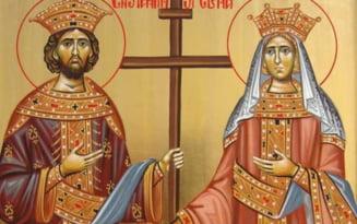Obiceiuri de Sfintii Constantin si Elena. Cum aduci voia buna si alungi raul din casa pe 21 mai
