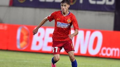Oferta de 13 milioane de euro pentru Octavian Popescu de la FCSB. Gigi Becali nu vrea sa-l vanda. Cat cere patronul echipei pe fotbalist