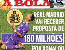 Oferta uriasa primita de Real Madrid pentru Cristiano Ronaldo