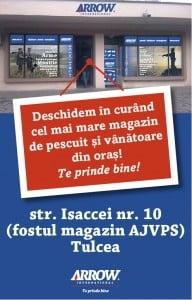 Oferte si promotii la deschiderea magazinului ARROW INTERNATIONAL la Tulcea!