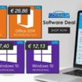 Oferte speciale pe Godeal24.com; Pachet cu 2 licente Windows 10 Pro la doar 12.13 euro