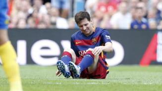 Oficial! Veste teribila pentru fanii Barcelonei. Cat va sta pe bara Lionel Messi