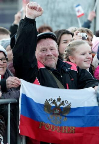 Oficial rus: Crimeea are mai multe motive sa apartina Rusiei decat Insulele Falkland Marii Britanii