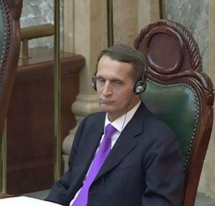 "Oficial rus interzis in UE, primit in Senatul Romaniei - numeste protestul ""un gest nerusinat"""