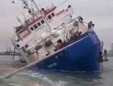 Oile moarte in accidentul naval din portul Midia nu au fost recuperate nici pana acum. Sezonul estival este in pericol