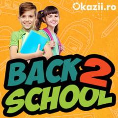 Okazii.ro: Reduceri de pana la 60% in campania Back to School