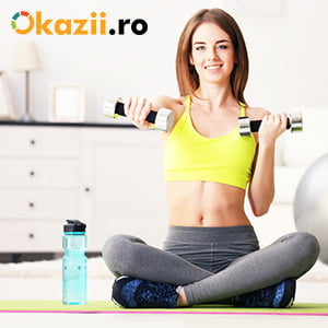 Okazii.ro te ajuta sa-ti amenajezi o sala de fitness la tine acasa