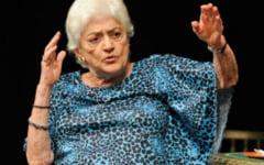 Olga Tudorache a murit. Marea actrita, in varsta de 88 de ani, s-a stins pe patul de spital