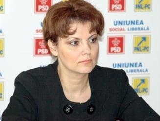 """Olguta Vasilescu: Blaga, """"noul tata al hotilor"""", a uitat de plagiatul lui Kovesi"""