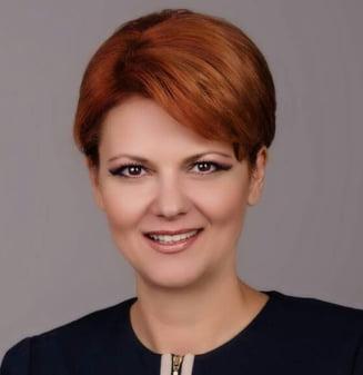 Olguta Vasilescu: Nu exista nicio statistica din care sa reiasa ca au scazut salariile a doua milioane de romani