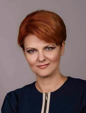 Olguta Vasilescu, in prima zi la Ministerul Muncii: Sunt 7 ordonante, o sa le prezinte cineva de la partid