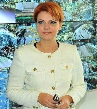 Olguta Vasilescu ii raspunde lui Ponta, care se teme ca Guvernul nu va avea bani de majorarile salariale