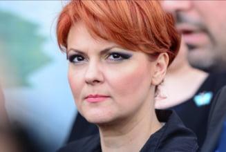 Olguta Vasilescu renunta sa forteze intoarcerea in Guvern: Dupa o discutie cu Dragnea, imi retrag candidatura