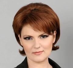Olguta Vasilescu spune ca de joi Ministerul Transporturilor va fi blocat pentru ca demisionarul Sova nu mai poate ramane in functie