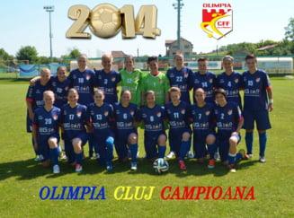 Olimpia Cluj, al patrulea event consecutiv