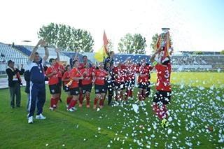 Olimpia Cluj, al treilea event consecutiv la fotbal feminin