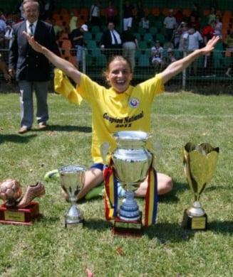 Olimpia Cluj si-a pastrat titlul la fotbal feminin
