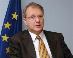 Olli Rehn: Viitorul UE depinde de salvarea Greciei