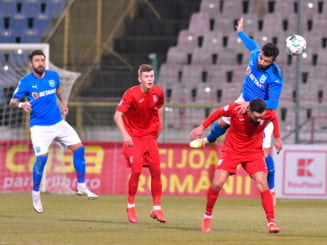 Oltenii si-au luat revansa in fata Chindiei Targoviste. Universitatea Craiova, prima echipa calificata in semifinalele Cupei Romaniei.