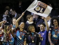 Olympique Lyon a castigat Liga Campionilor... la fete