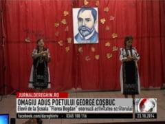 Omagiu adus poetului George Cosbuc