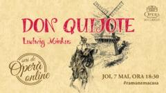 Opera Nationala Bucuresti transmite online povestea lui Don Quijote transpusa in balet