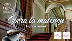 Opera la matineu - Cafea si muzica, recital in foaierul Operei Nationale Bucuresti