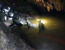 Operatiune de salvare in Thailanda: 4 copii au fost scosi din pestera inundata, restul mai au de asteptat
