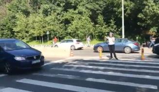 Operatiunea Zebra: Proteste pe trecerile de pietoni din Bucuresti si mai multe orase (Video)