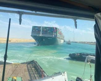 Operatiunea de extragere a navei Ever Given. Vasul gigantic a fost repus in miscare dupa aproape o saptamana